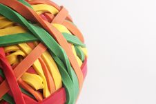 Free Rubberband Ball Stock Photography - 34283732