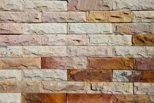 Free Modern Brick Wall Surfaced Stock Photo - 34285000