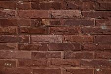 Modern Brick Wall Surfaced Stock Photos