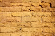 Free Modern Brick Wall Surfaced Royalty Free Stock Photography - 34285077