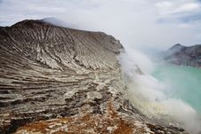 Free Kawah Ijen Crater, Indonesia Stock Photo - 34288410