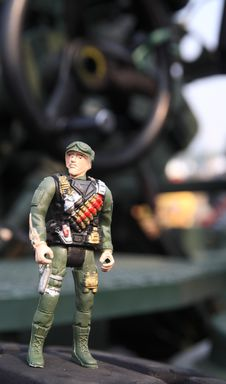 Free Toy Soldier Royalty Free Stock Photo - 34289995