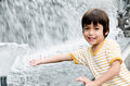 Free Little Boy Playing Water Fountain Royalty Free Stock Photography - 34294027