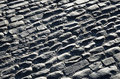 Free Pebbly Pavement Of The Spanish Ancient Road Stock Images - 34296644