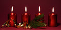 Free Red Candles Stock Photography - 34297962