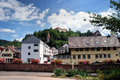 Free Town And Castle In The Northern Black Forest Royalty Free Stock Photo - 34298235