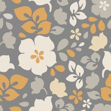 Free Pattern Floral Seamless Stock Image - 34291361