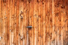 Free Wooden Gate Royalty Free Stock Photos - 34295048