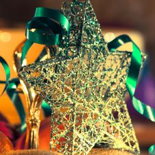 Free Beautiful Christmas Star Stock Images - 34295284