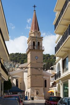 Free Streets Of Zakynthos, Greece. Royalty Free Stock Images - 34295979