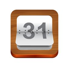 Free Calendar Icon Royalty Free Stock Images - 34296999