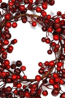 Free Christmas Wreath Stock Photos - 34298043