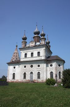 Archangel Michael Cathedral In The Monastery Of Archangel Michael. Russia Royalty Free Stock Photo