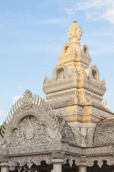 Free Sunshine On Citi Pillar Shrine, Nan Province Royalty Free Stock Photo - 34299465