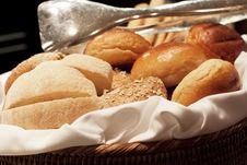 Free Bread Basket Royalty Free Stock Photos - 34299778