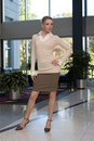Free Beautiful Blonde Business Woman Stock Photos - 3432573
