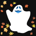 Free Friendly Halloween Ghost Royalty Free Stock Photography - 3439017