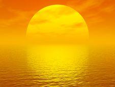 Free Sunset Royalty Free Stock Photography - 3431547