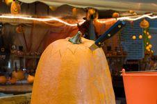 Free Creating An Halloween Lantern Stock Photography - 3431712