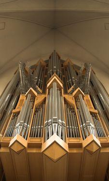 Free Pipe Organ Royalty Free Stock Image - 3431976