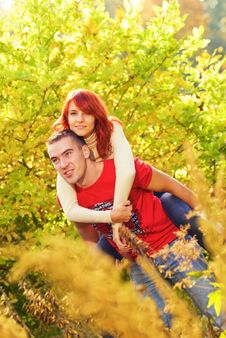 Free Young Couple In Love Stock Images - 3432844