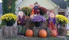 Free A Fall Yard Decoration Stock Photos - 3432953