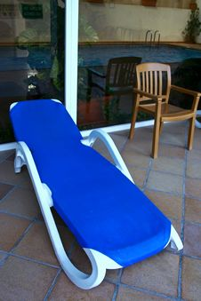 Free Sun Lounger Royalty Free Stock Photography - 3433217