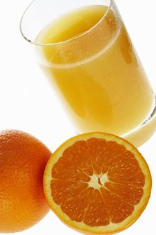 Free Orange And Juice Stock Photo - 3433280