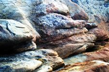 Seaside Rocks Stock Photos