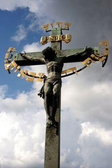 Free Jesus On Cross Royalty Free Stock Photos - 3433958