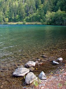 Free Lake, Olympic National Park Stock Photos - 3434043