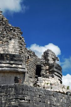 Free Ancient Mayan Observatory Stock Photo - 3434160