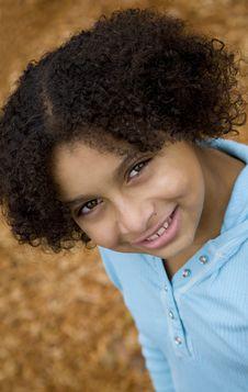 Free Pretty Biracial Girl Royalty Free Stock Image - 3434736
