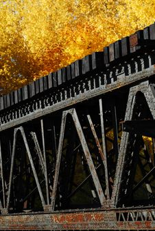 Free Train Bridge Detail Royalty Free Stock Image - 3434746