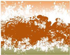 Free Floral Grunge Background Illus Stock Images - 3434814