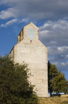 Free Tall Grain Elevator Stock Images - 3435264