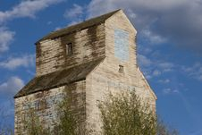 Free Old Grain Elevator Stock Photo - 3435290
