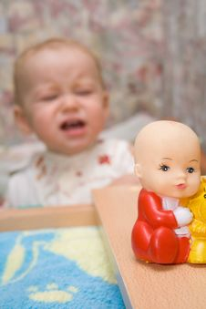 Free Crying Baby Royalty Free Stock Image - 3436036