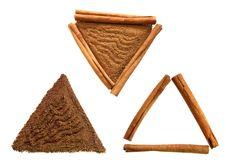 Free Cinnamon Sticks And Ground Stock Images - 3437044