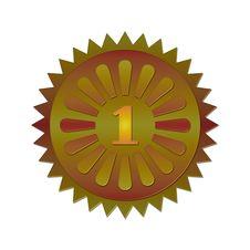 Free Award Badge Stock Photos - 3437343