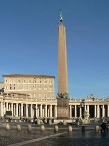 Free Saint Peter Square - Vatican Stock Photos - 3437973