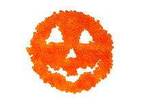 Free Caviar Spooky Halooween Face Royalty Free Stock Image - 3438366