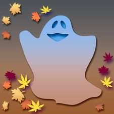 Free Friendly Halloween Ghost Stock Photo - 3439030