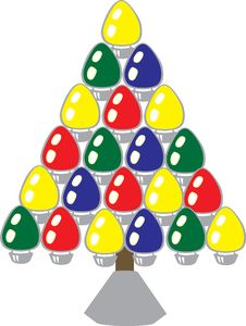 Free Christmas Tree Designs Stock Images - 3439534
