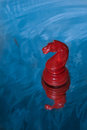 Free Red Chess Knight Royalty Free Stock Image - 34300856
