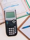 Free Scientific Calculator For School Royalty Free Stock Photos - 34308998