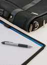 Free Breifcase And Notepad Stock Photography - 34309022