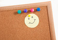 Free Cork Board Notes Royalty Free Stock Image - 34309056