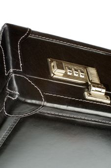Free Briefcase Lock Stock Photography - 34304482