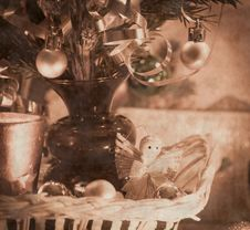 Free Beautiful Christmas Decorations Royalty Free Stock Image - 34305146